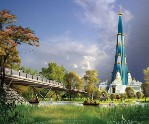 Upcoming major hindu temple in India