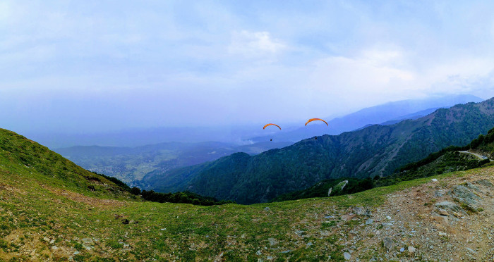 Paragliding in Bir-Billing: a near-death experience