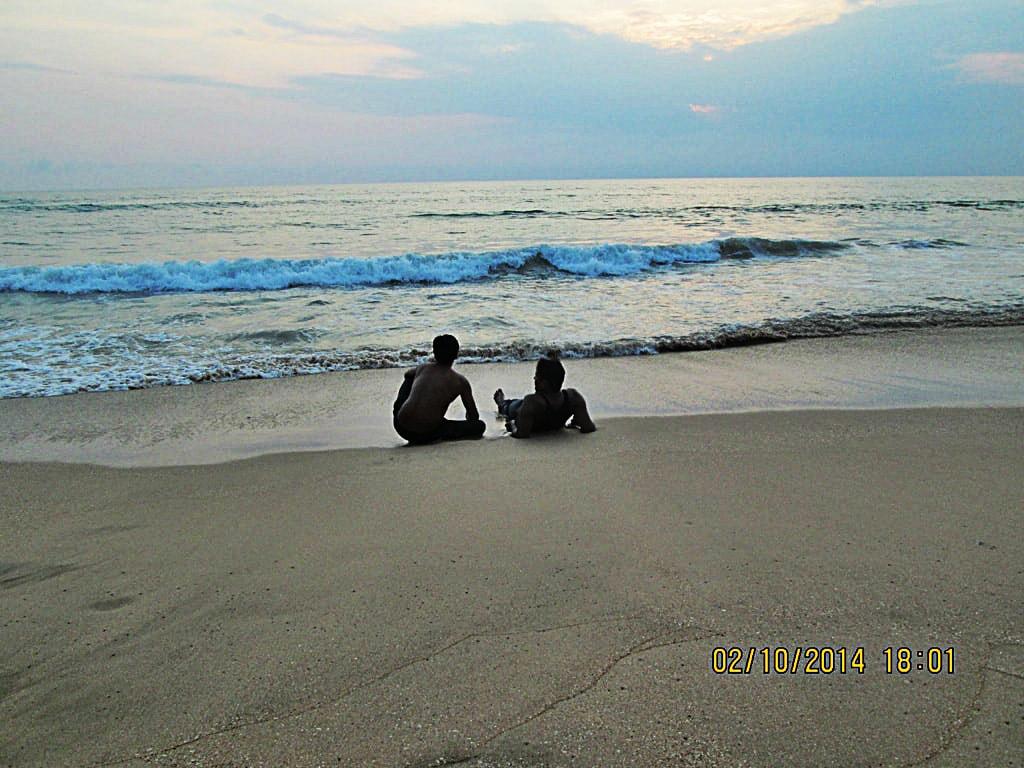 Mudit and Rupesh at Agonda beach