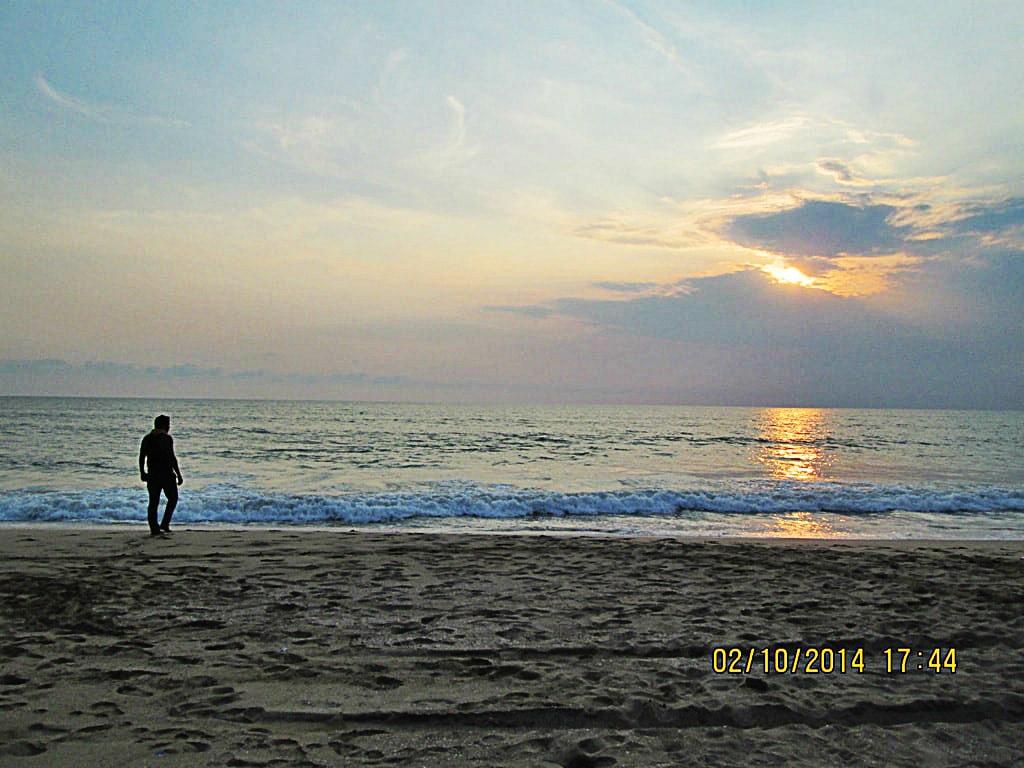 Sunset at Agonda beach
