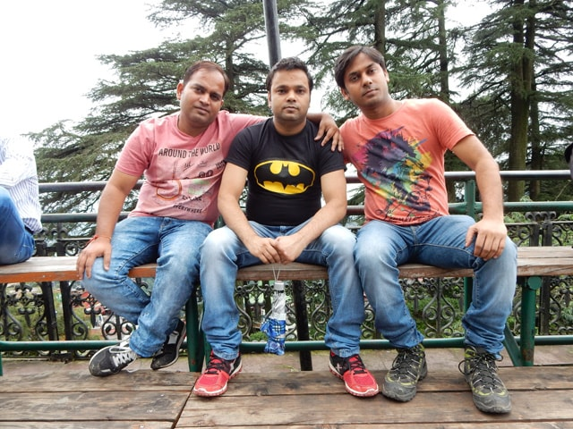 All of us at Ridge, Shimla