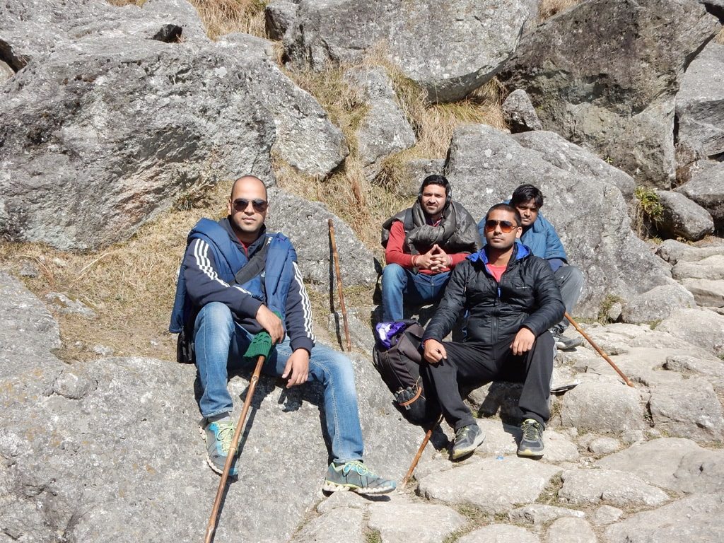 All of us at Triund Trek, Mcleodganj