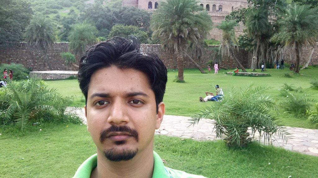 Myself at Bhangarh