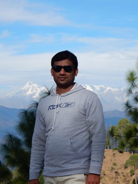 Anupam in Ranikhet