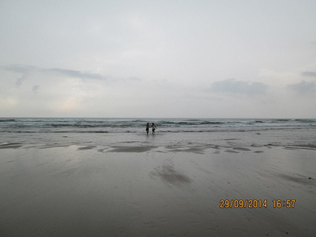 Arambol Beach before rain