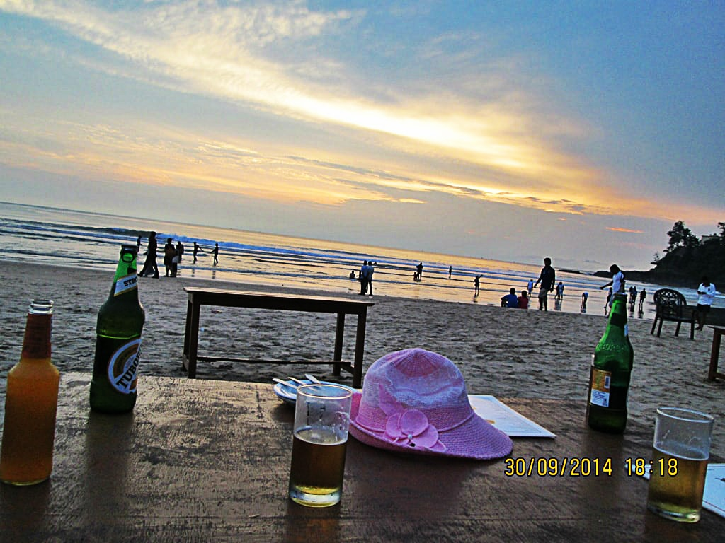 Baga beach masti time