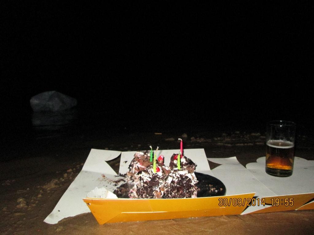 Baga Beach birthday celebration