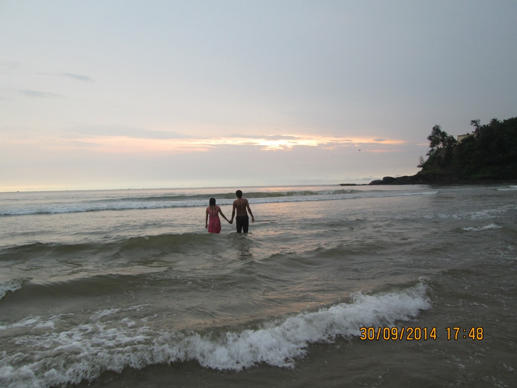 Baga Beach sunset