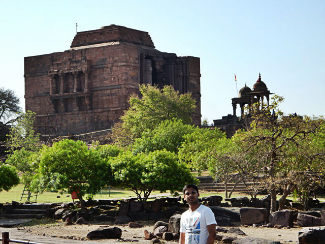 me at Bhojpur Temple, Bhopal