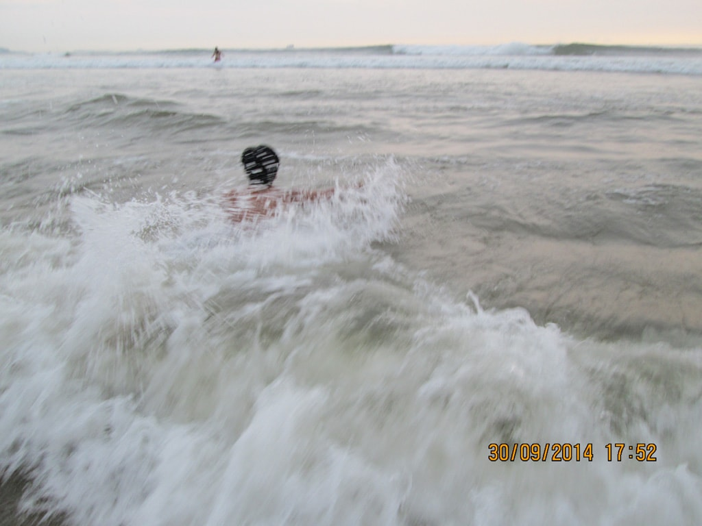 Mudit at Calangute beach