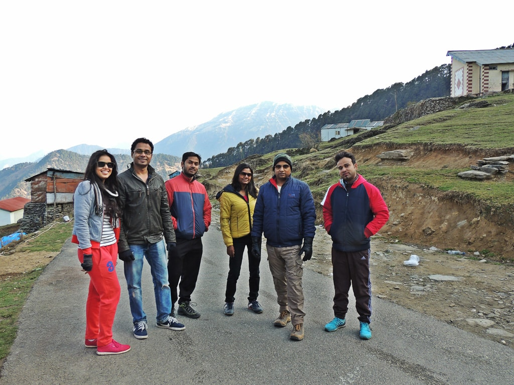All of us in Chopta