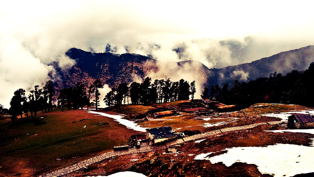Beautiful view of Chopta