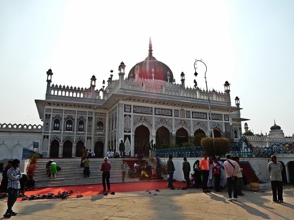 Close view of Chhota Imambara