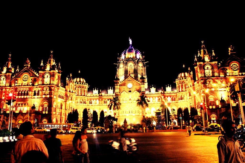 CST railway station