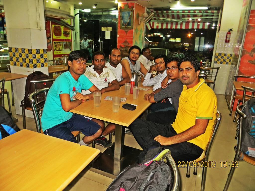 Dinner Time, Vaishno Devi