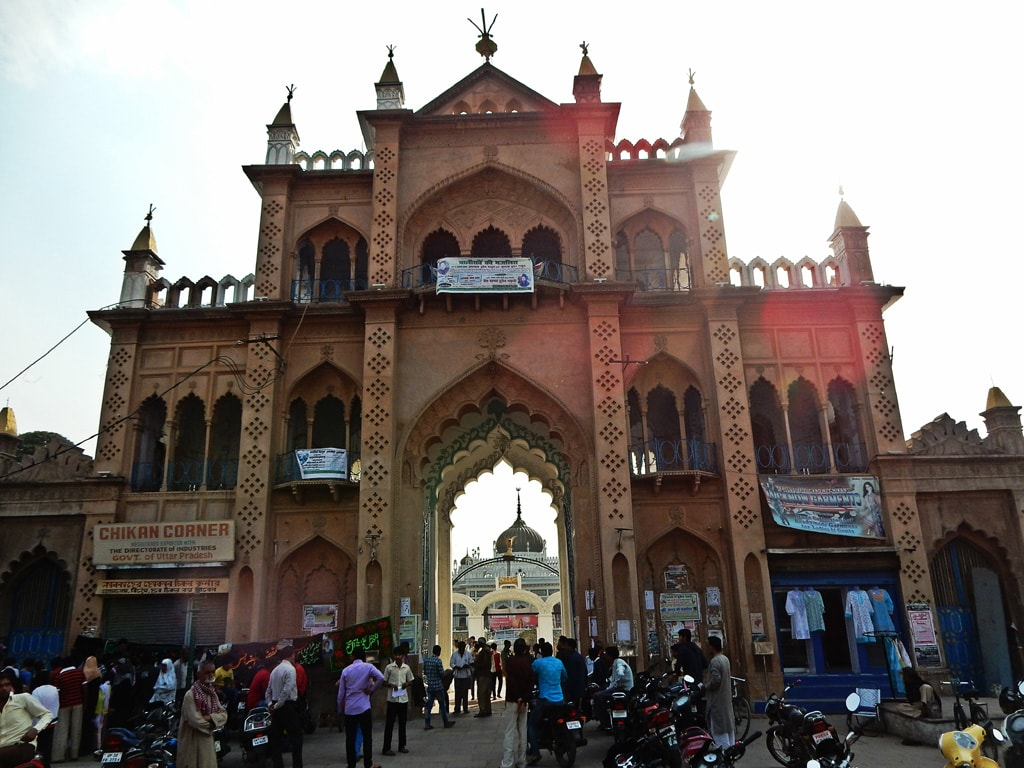 Entery gate of Chhota Imambara