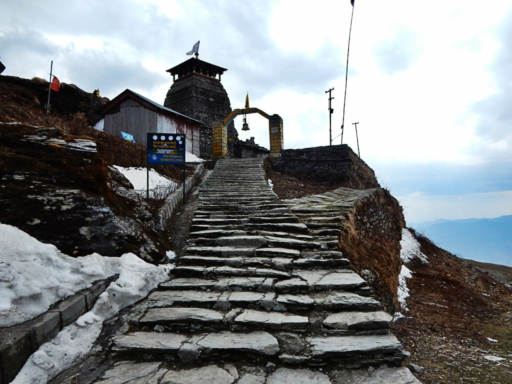 First view of Tungnath Temple