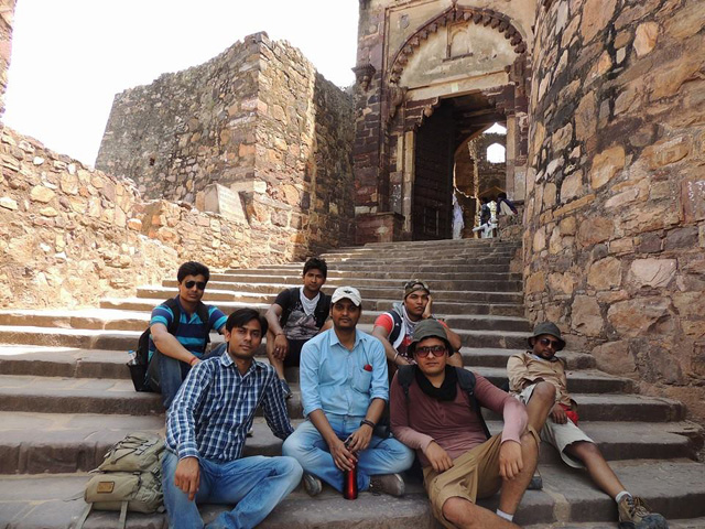 Swagat Gate, Ranthambore Fort