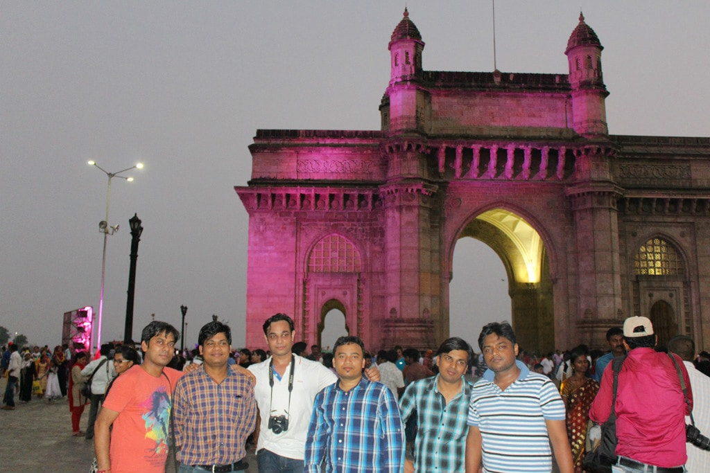 Evening at Gateway of India