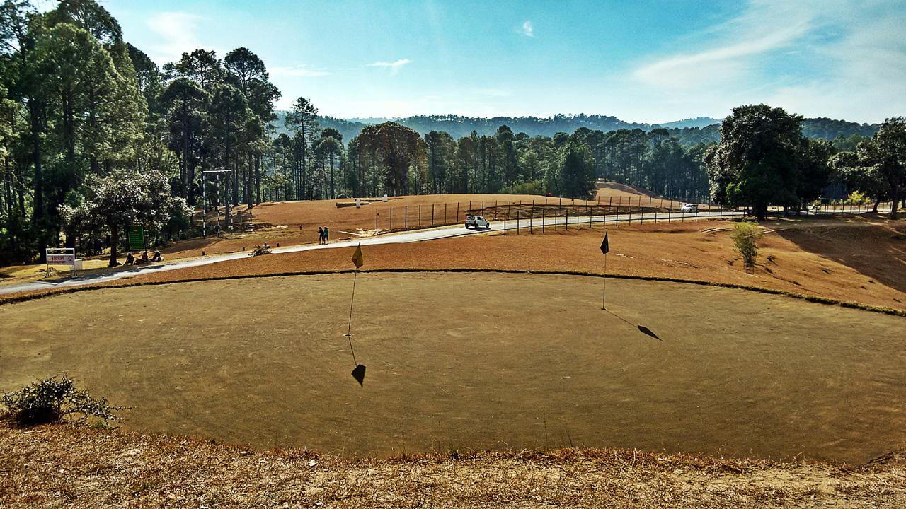 Golf Course in Ranikhet