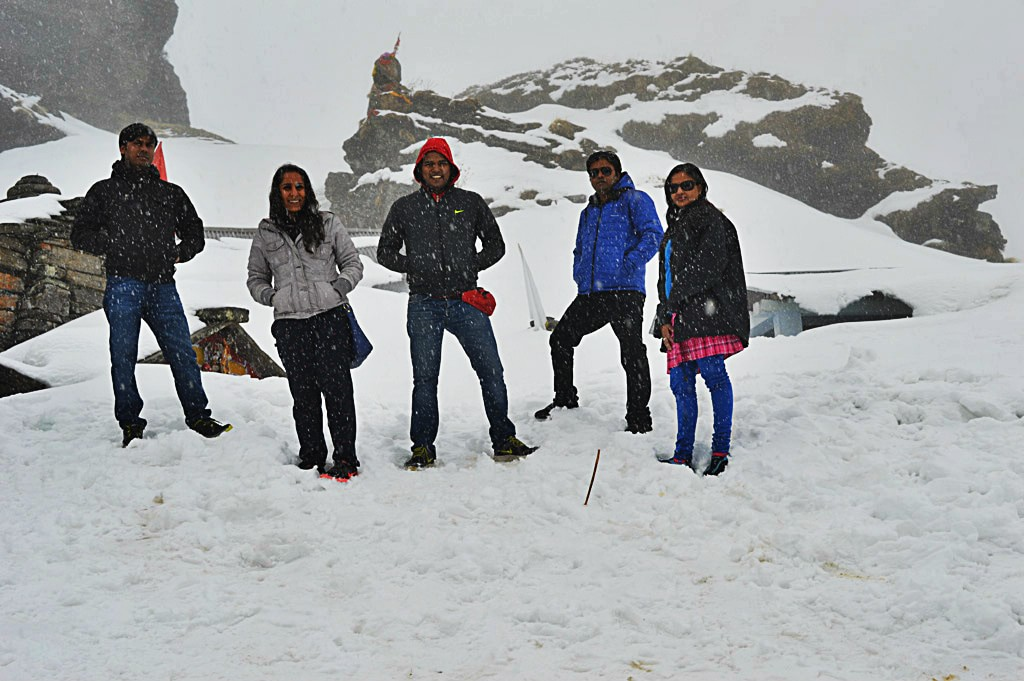 Reached Tungnath Temple