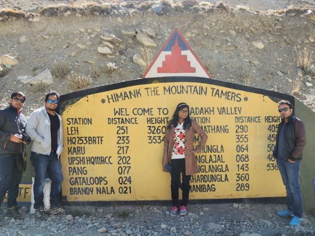 we at Himank Board, Sarchu