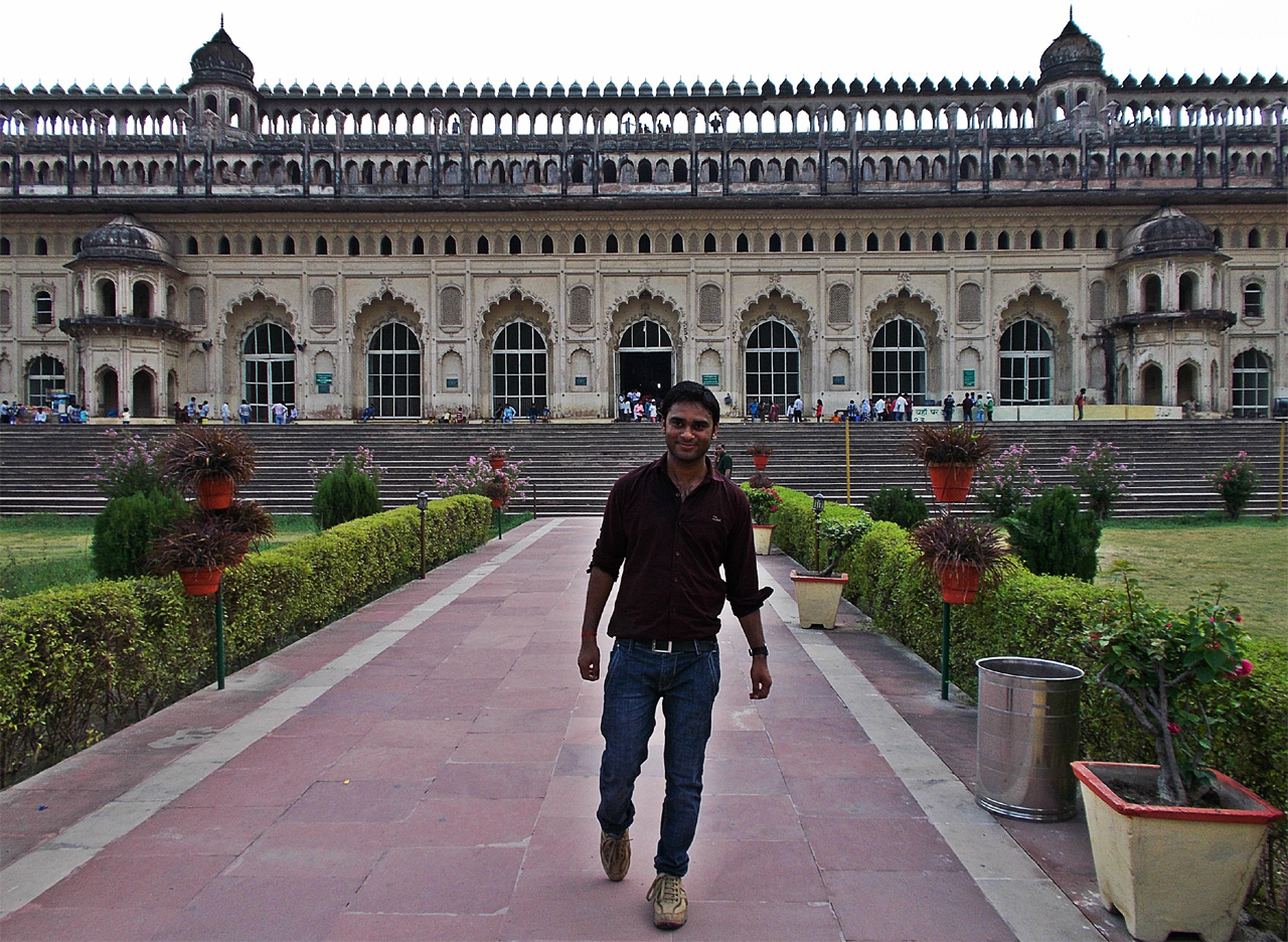 me in front of Imambada