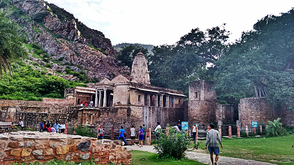 Another temple inside Bhangarh Fort