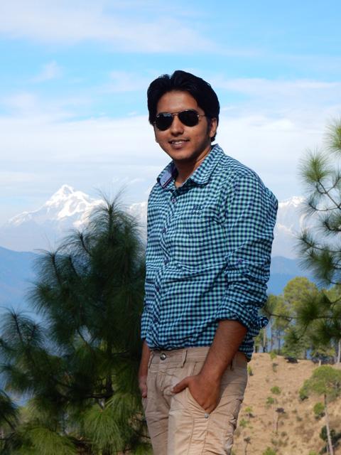 Kapil in Ranikhet