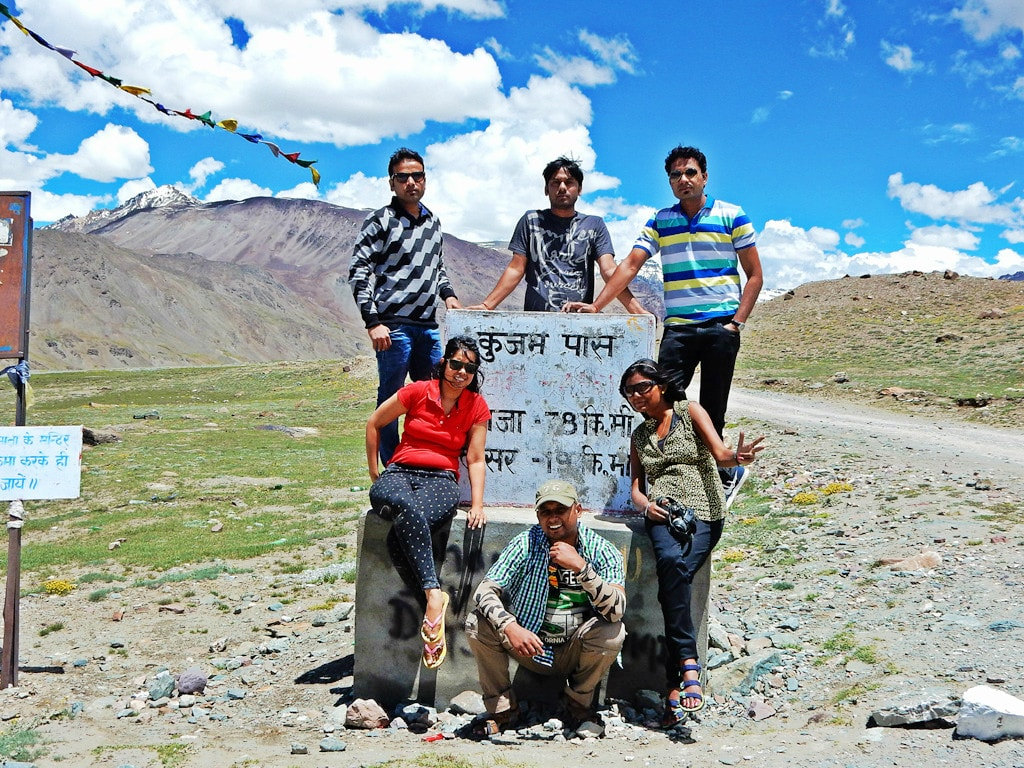 All of us at Kunzum Pass