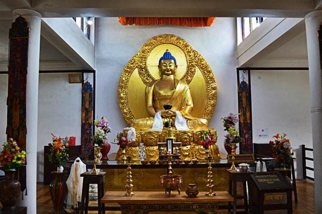 Lord Buddha Statue, Shanti Stupa