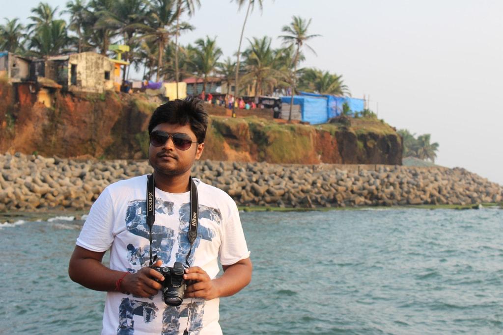 Manish at Anjuna beach