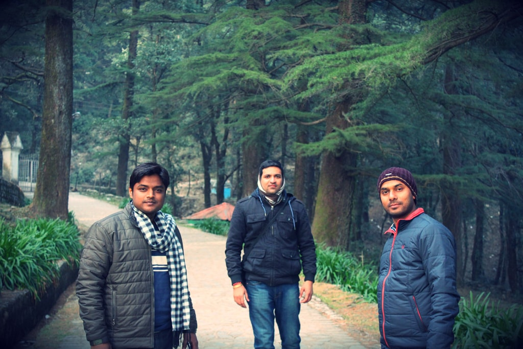 At St. Jhon Church, Mcleodganj