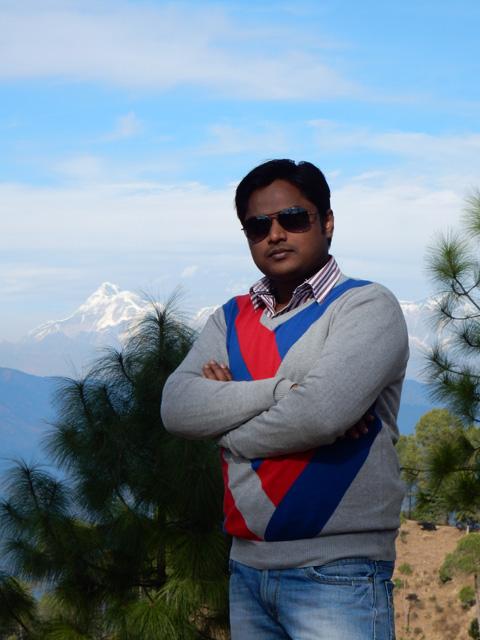Manish in Ranikhet