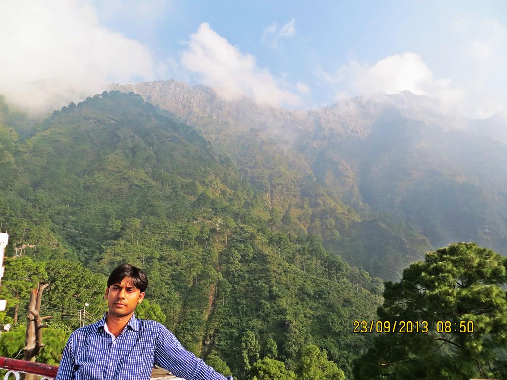me in Vaishno Devi