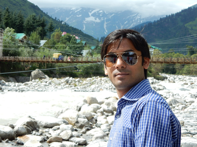 Me at Beas River