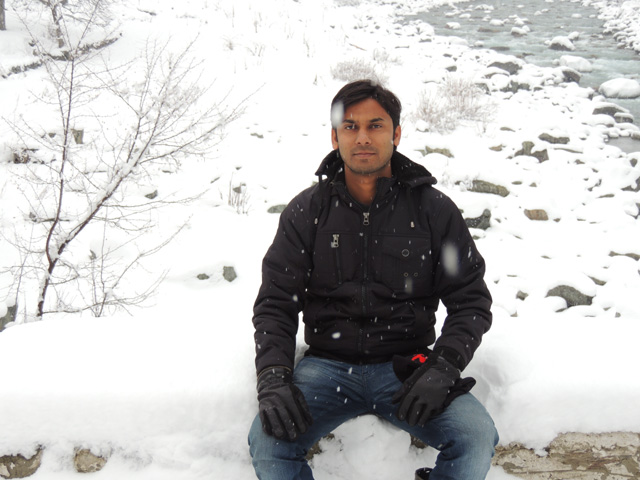 Me in Sonmarg