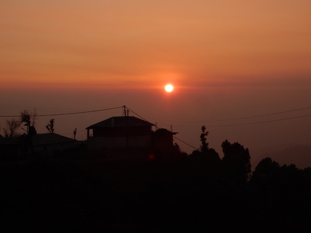 Sunset at Naddi Village