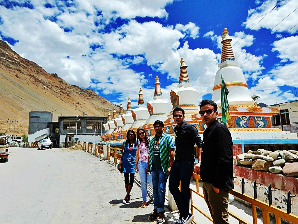 near Kaza Monastery