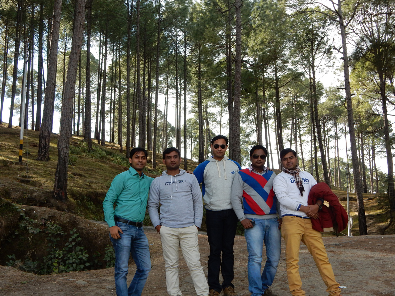 On the way to Ranikhet