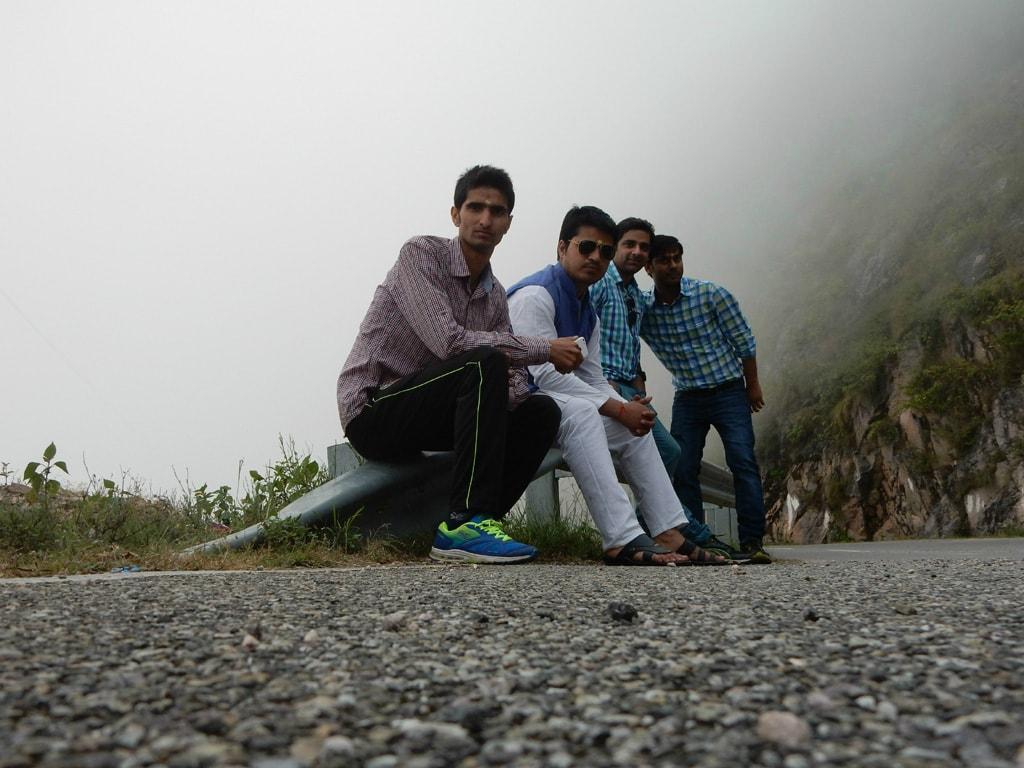 On the way to Tarkeshwar Temple