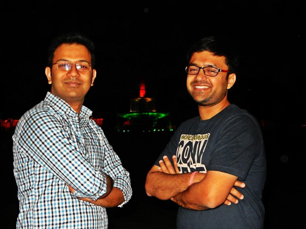 Pulkit and Shashwat at Raj Path