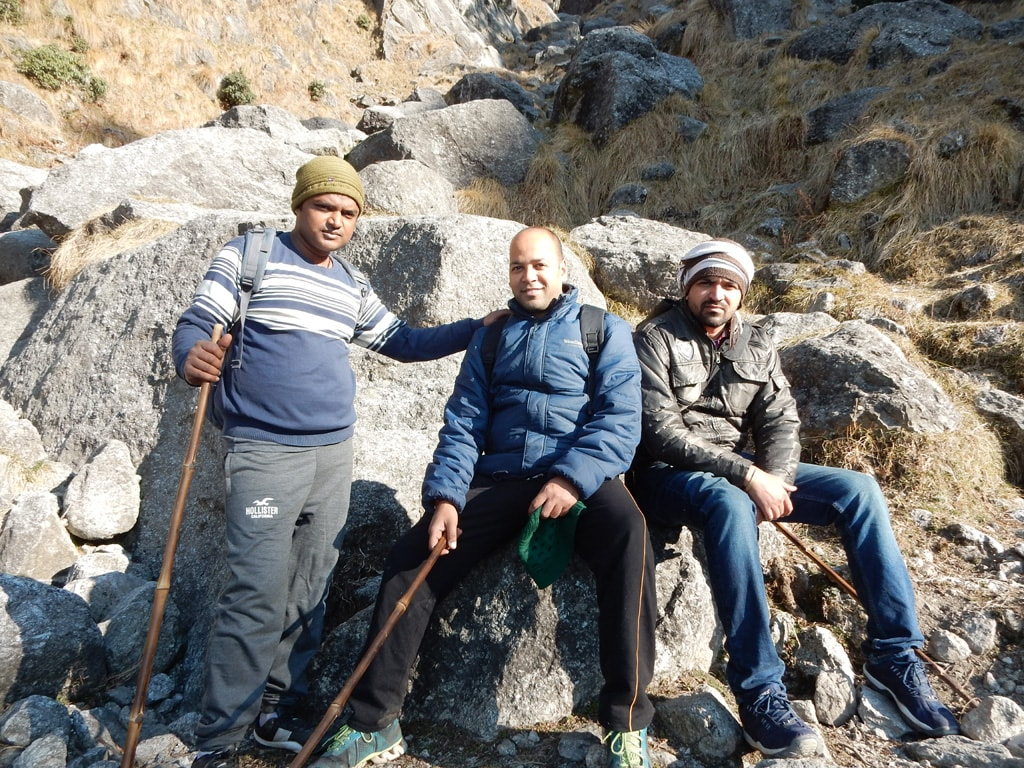 return time Triund trek