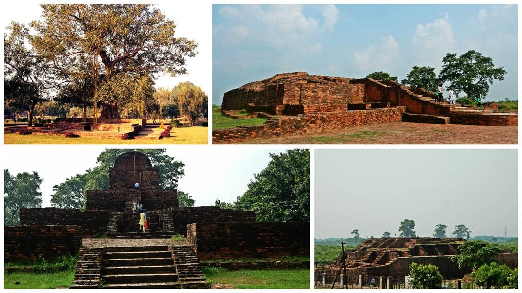 Ruins in Shravasti