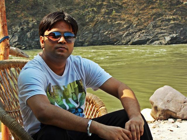 Sanjay in Rishikesh