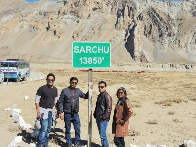 at Sarchu