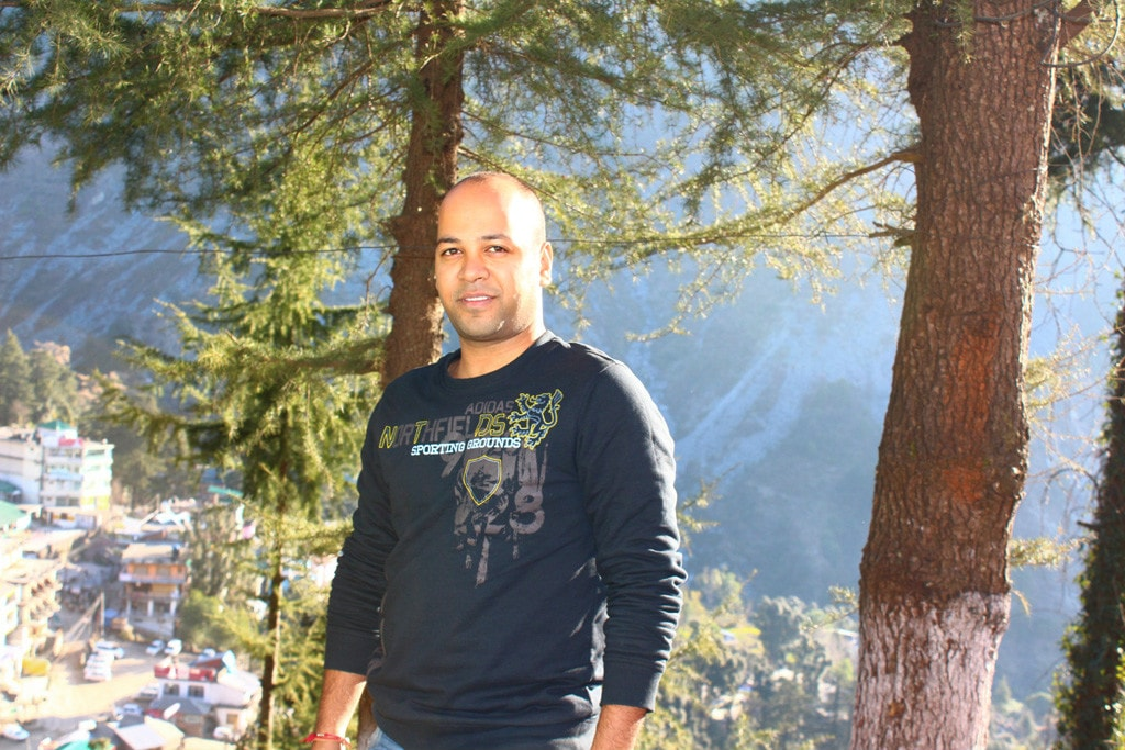 Shashank at Triund Junction Guesthouse