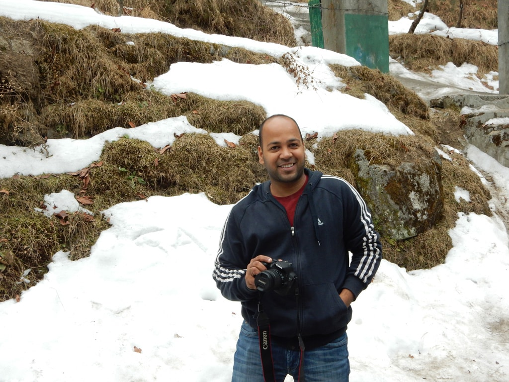 Shashank, on the way to Khajjiar