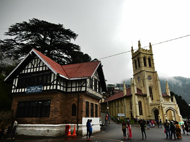 Shimla Libray and Church