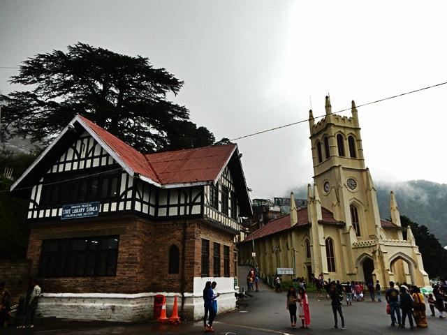 Shimla Libray and Church